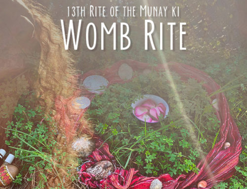 13th Rite of the Munay Ki (Womb Rite)